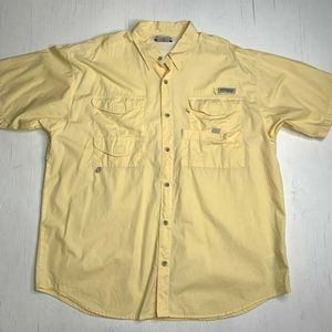Columbia Fly Pockets PFG Fishing Vented Shirt